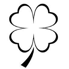 Top 20 Free Printable Four Leaf Clover Coloring Pages Online In 2020 Four Leaf Clover Tattoo Clover Tattoos Shamrock Tattoos
