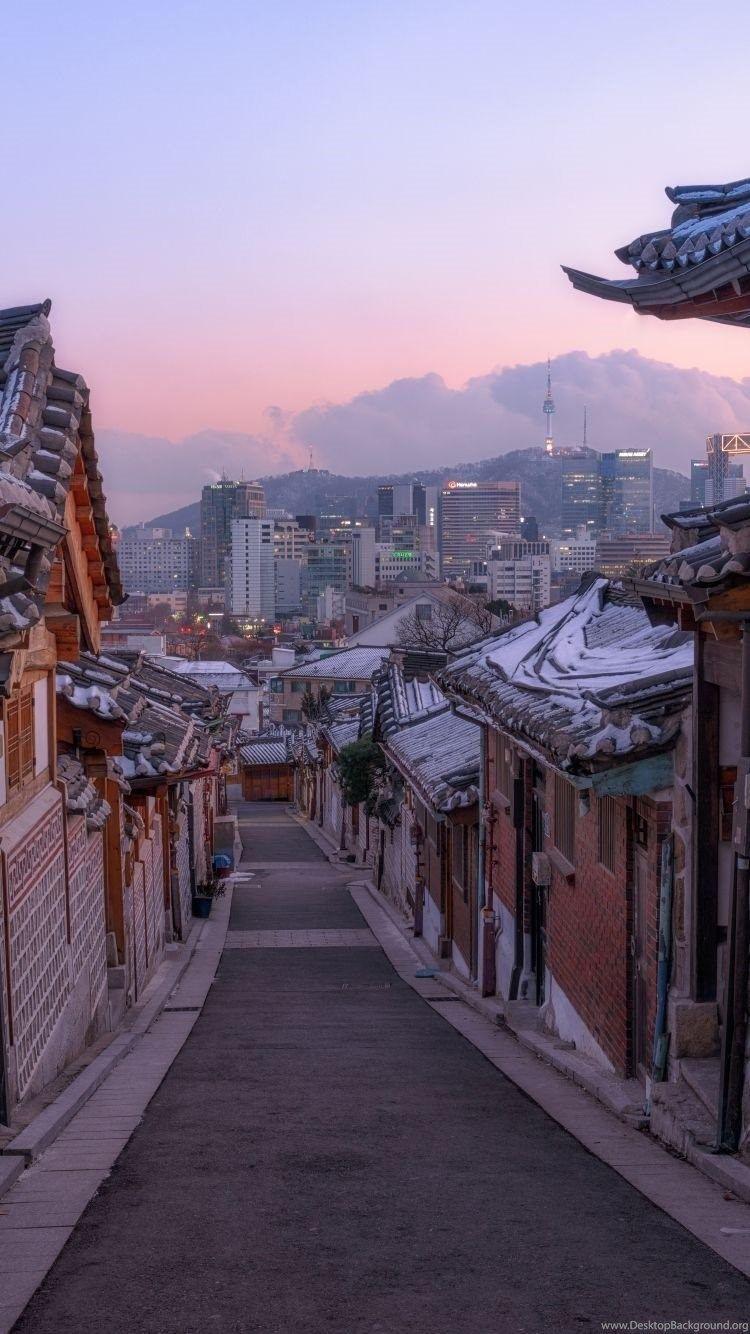 55 Korean Wallpapers Download At Wallpaperbro Asthetische Bilder Hintergrund Landschaft Anime Landschaft