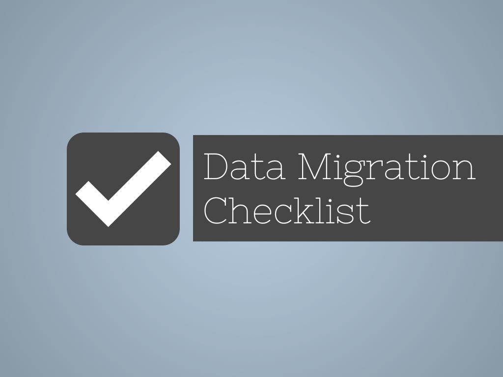 The online portal for Data Migration knowledge   Data migration