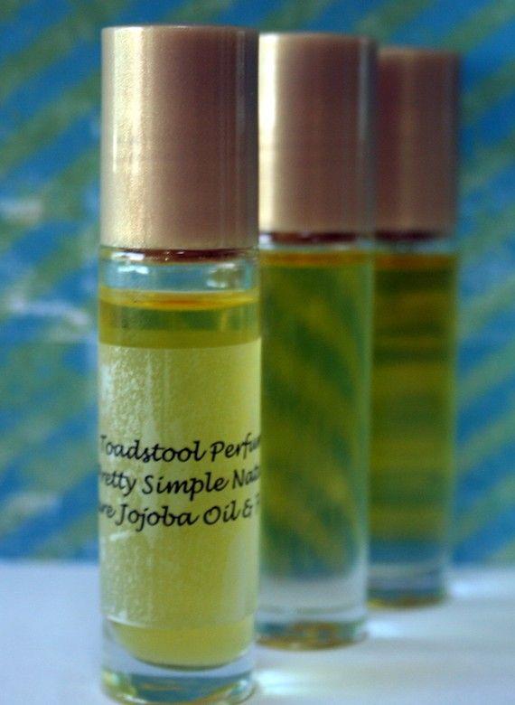Chai Tea Perfume Oil Certified Organic Jojoba Oil Roll On Body Oil by Toadstool Soaps #jojobaoil