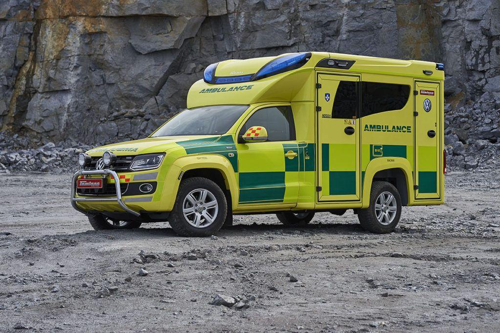 Concept Tamlans Ambulance, Vw amarok, Recreational