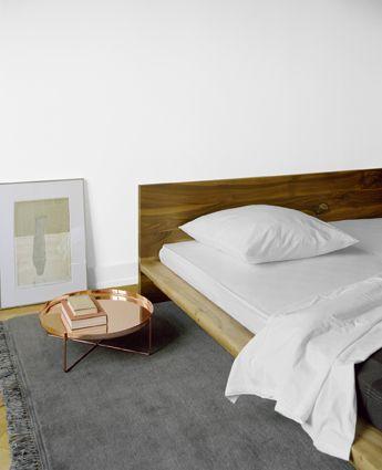 pop of copper ++ mo ++ philipp mainzer home Pinterest - schlafzimmer einrichtung nachttischlampe