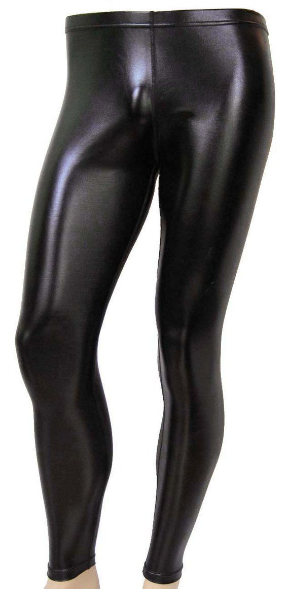 Men/'s 80/'s Heavy Metal GLAM Rock Villain Superhero Costume Spandex Stretch Pants