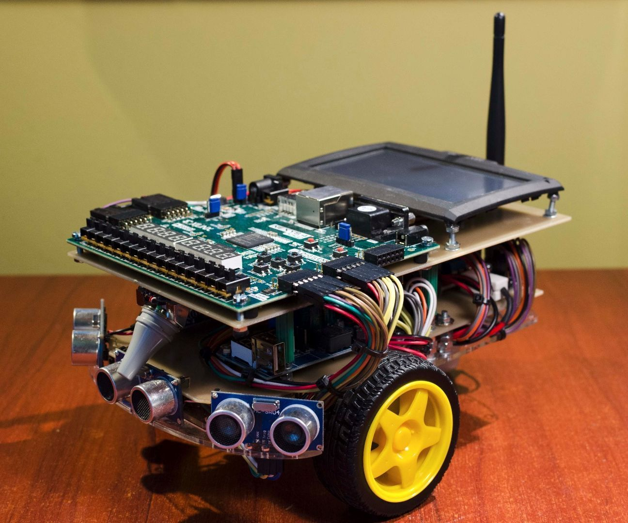 Fpga Powered Autonomous Search And Rescue Vehicles Projects To Try Ramps 14 Mega2560 R3 A4988 Optical Endstop 3d Printer Kit Alex