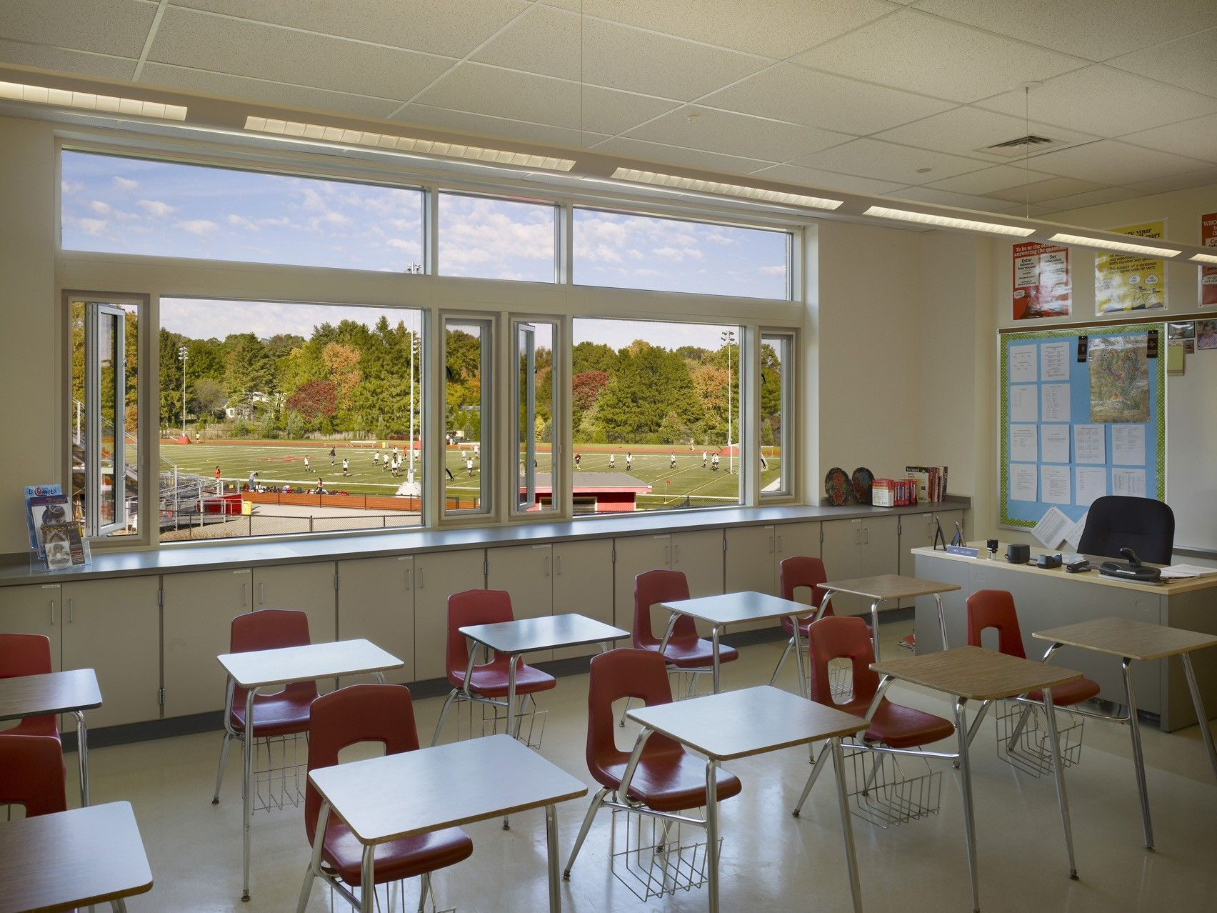 Harriton High School is one of two LEED Gold certified high schools