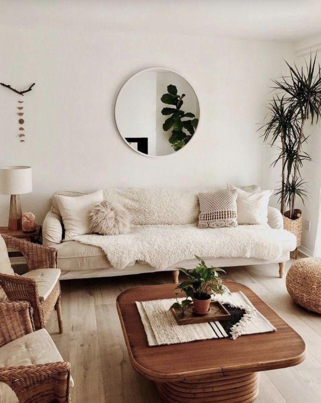 Rhein Accent Mirror Living room decor apartment, Bright