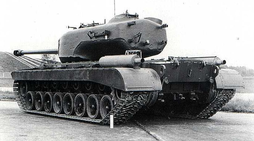 ac3f77baba T29 Heavy Tank, rear view. Notice how massive is turret | tanks ...