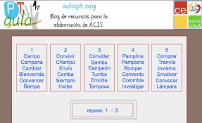 Resultado De Imagen Para Palabras Con Nv Para Niños De Primaria Lengua