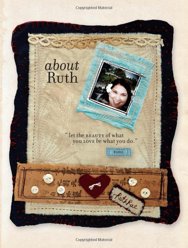 Ruth Rae Art Workshop Fabric Art Fabric Book