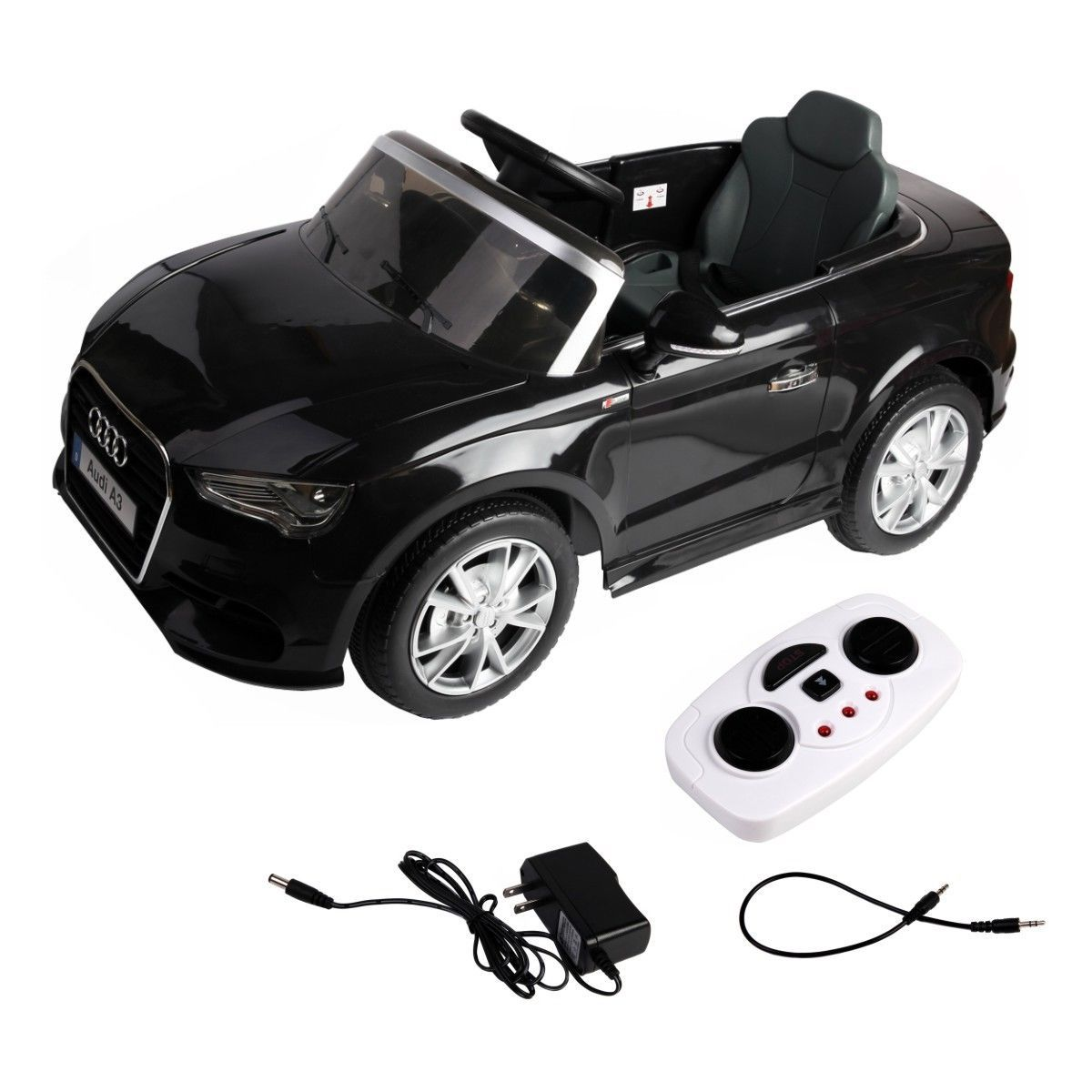 V Audi A Licensed RC Kids Ride On Car Electric Remote Control - Audi 6v car