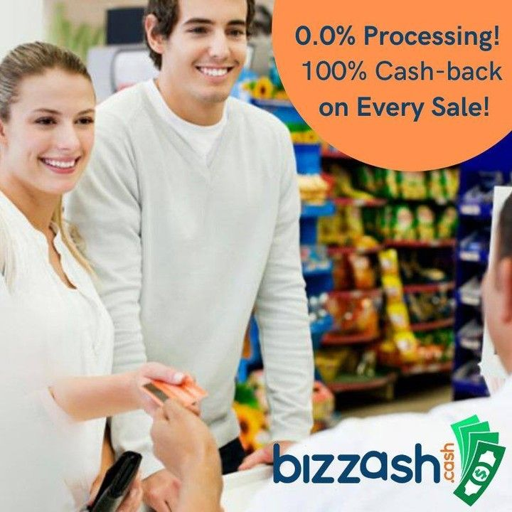 💥0.0% Processing! 👉100% cash-back on every sale!