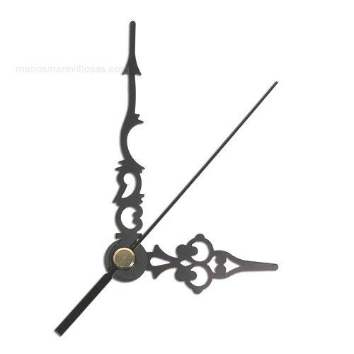 Relojes: Sobremesa Y Pared Agujas Para Reloj Antiguo Great Varieties Arte Y Antigüedades