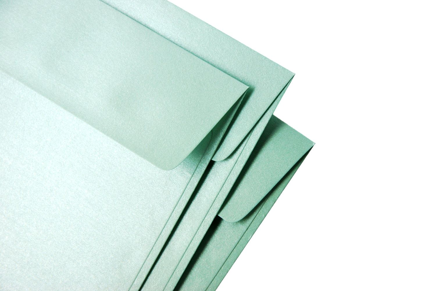 A7 5x7 metallic mint envelopes perfect for 5x7 cards