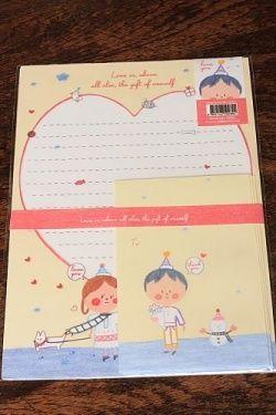 Kawaii Letter Set - Love is above all else