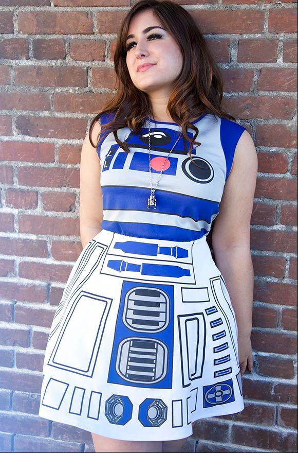 D2 Wars Kostüm R2 DressCoyoten Damen Star 2017 DHIE92W