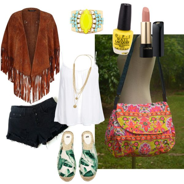 Casual Style by owlnightmare on Polyvore featuring polyvore fashion style New Look River Island H&M Sandy Hyun Vince Camuto Lancôme