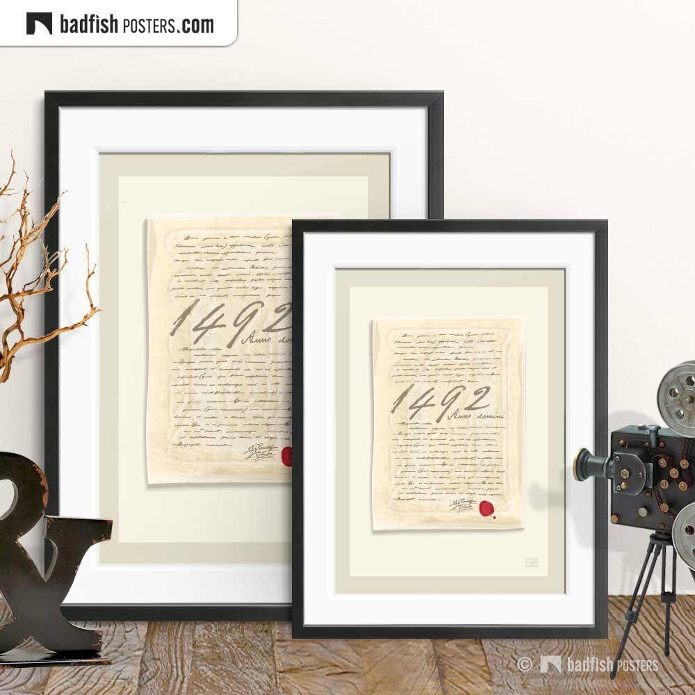 Christopher Columbus Print, Wall Art, Movie Poster