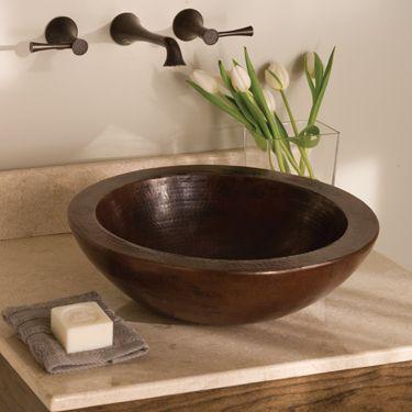 Laguna Copper Sink Bathroom Sink Bathroom Sink