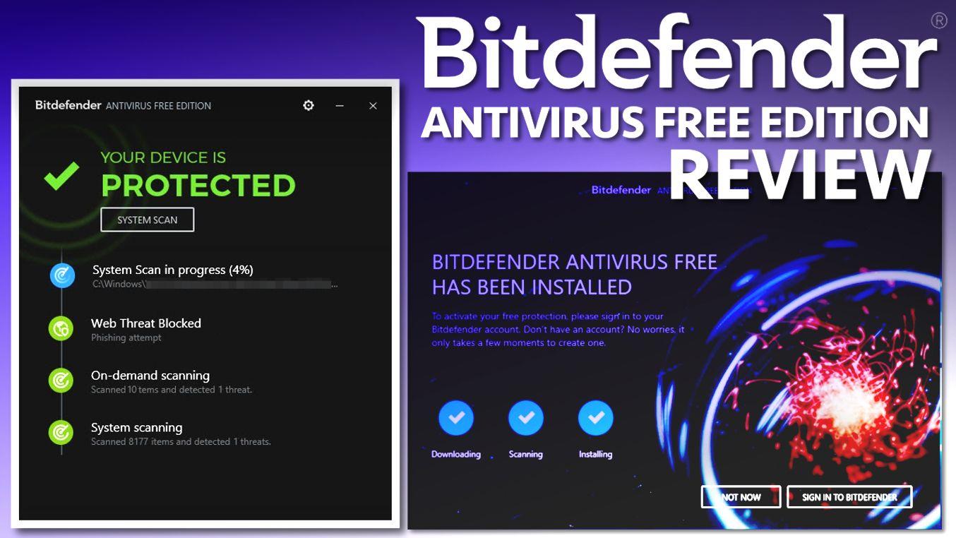 Bitdefender free edition review   COMPUTER HELP   Computer help