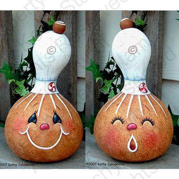350 350 pixels gourd art pinterest - Calabazas de halloween pintadas ...