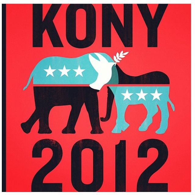 Stop Kony 2012. Make him visible. Be the change you want to see in the world.