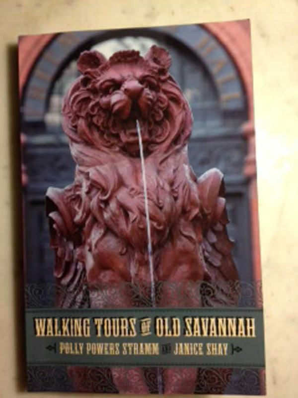 New Downtown Savannah Tour Book Filled With Answers Savannah Tours Savannah Chat Downtown Savannah