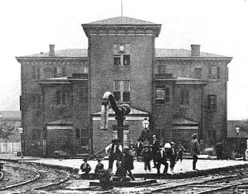 Grafton West Virginia History Hotel And Train Station In 1861