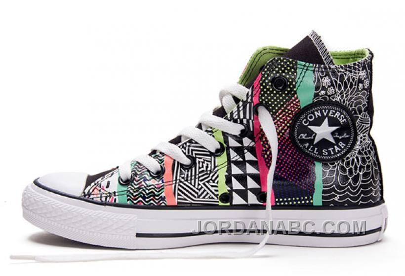 1df42707b24dae http   www.jordanabc.com converse-chuck-taylor-all-star -geometric-pattern-print-multi-colored-high-tops-canvas-sneakers.html CONVERSE  CHUCK TAYLOR ALL STAR ...