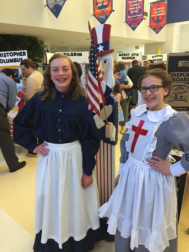 80cb1f6139852 Creative Costume Ideas for School Culture Night or Wax Museum Night!  Transform your look with a Betsy Ross costume or Clara Barton costume.