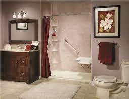 handicap bathrooms barrier free shower wheel chair