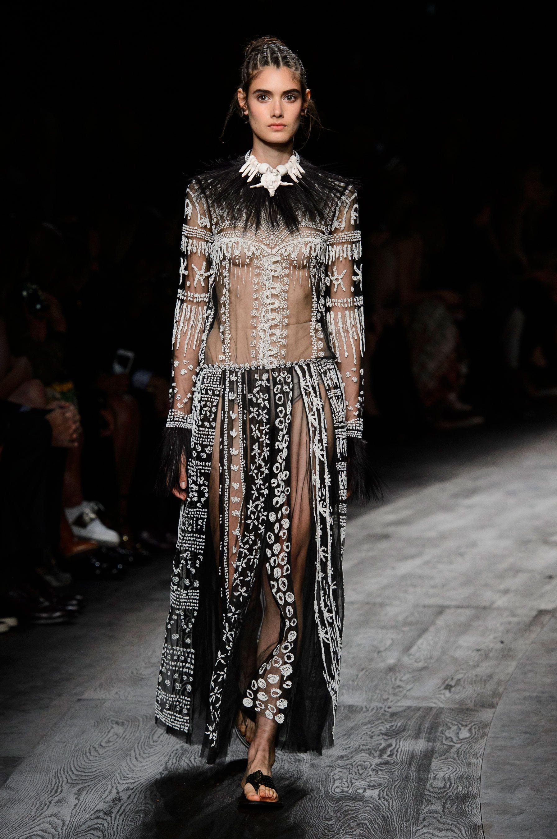 Valentino Wiosna Lato 2016 Fashion Fashion Week Paris Fashion Week