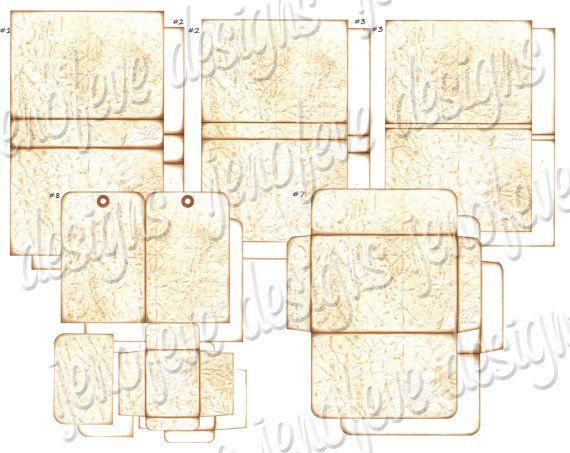 Stack the Pages Printable Mini Album Old Paper \ Plain Mini - free album templates