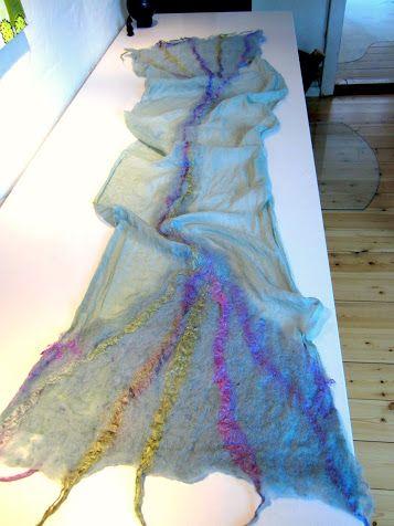 Scarf - silk pongé