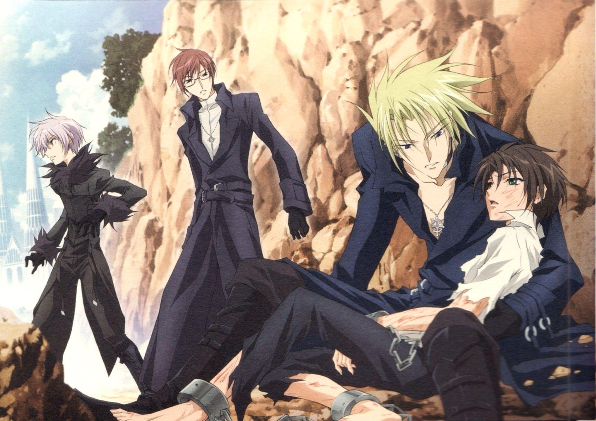 Castor, Labrador, Frau and Teito.  07-Ghost #anime