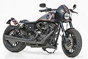 Customized Harley-Davidson Dynas by Thunderbike Customs