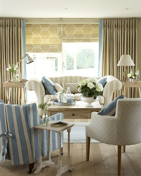 Made To Measure Roman Blinds - Patterned, Striped Or Plain ...