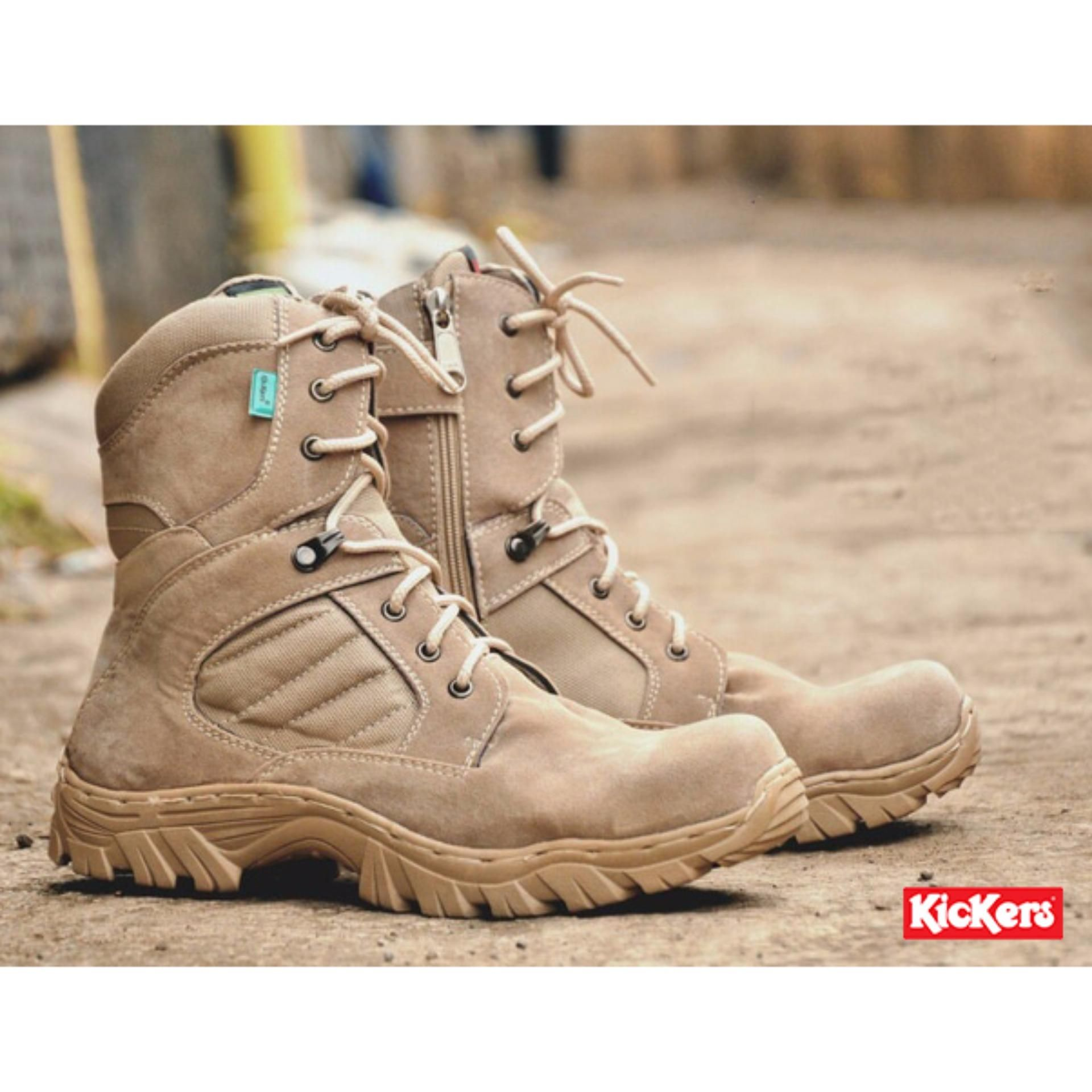 Sepatu Kickers High Delta Safety Boots Sepatu