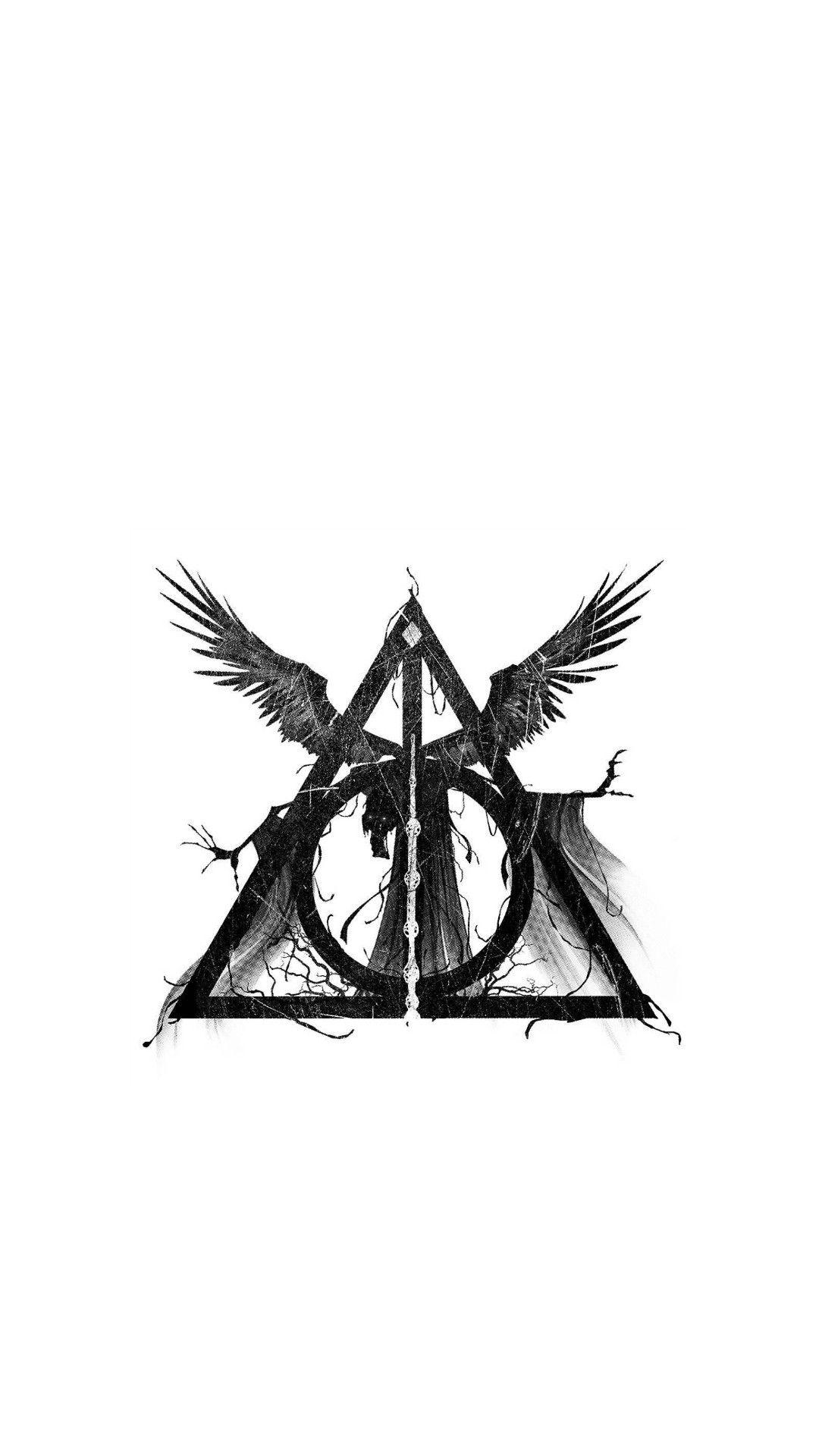 Pin Von Isabella Cristina Auf Harry Potter Heiligtumer Des Todes Heiligtumer Des Todes Tattoo Harry Potter Tattoos