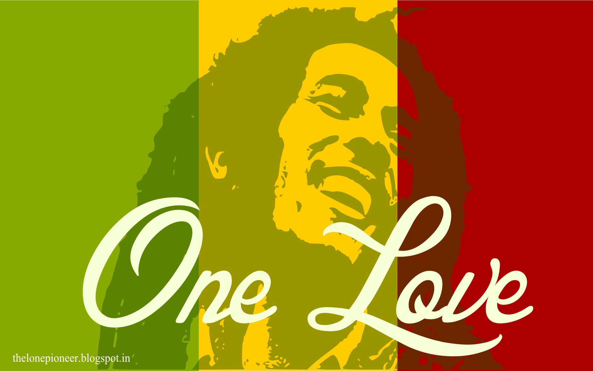 Bob Marley One Love Wallpaper Full Hd Desktop Wallpaper