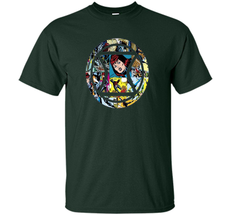 Black Widow Mosaic Graphic T-Shirt
