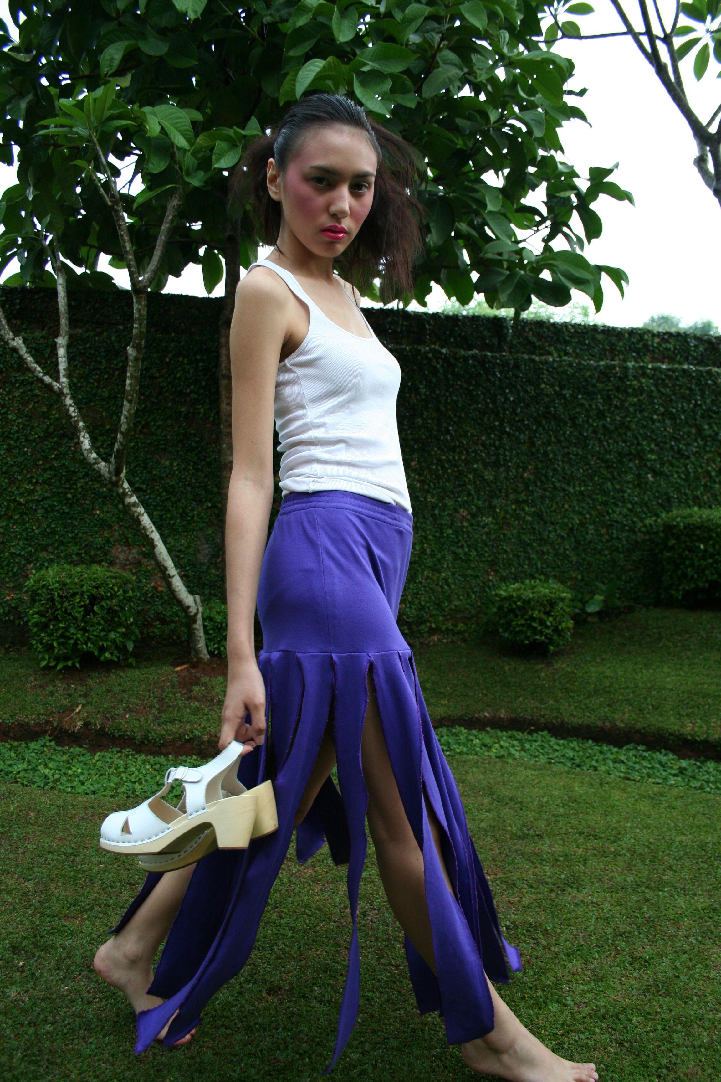 1465a7c3338c70 Claire white in lime tree Clogs, Claire, Harem Pants, Ballet Skirt, Harem