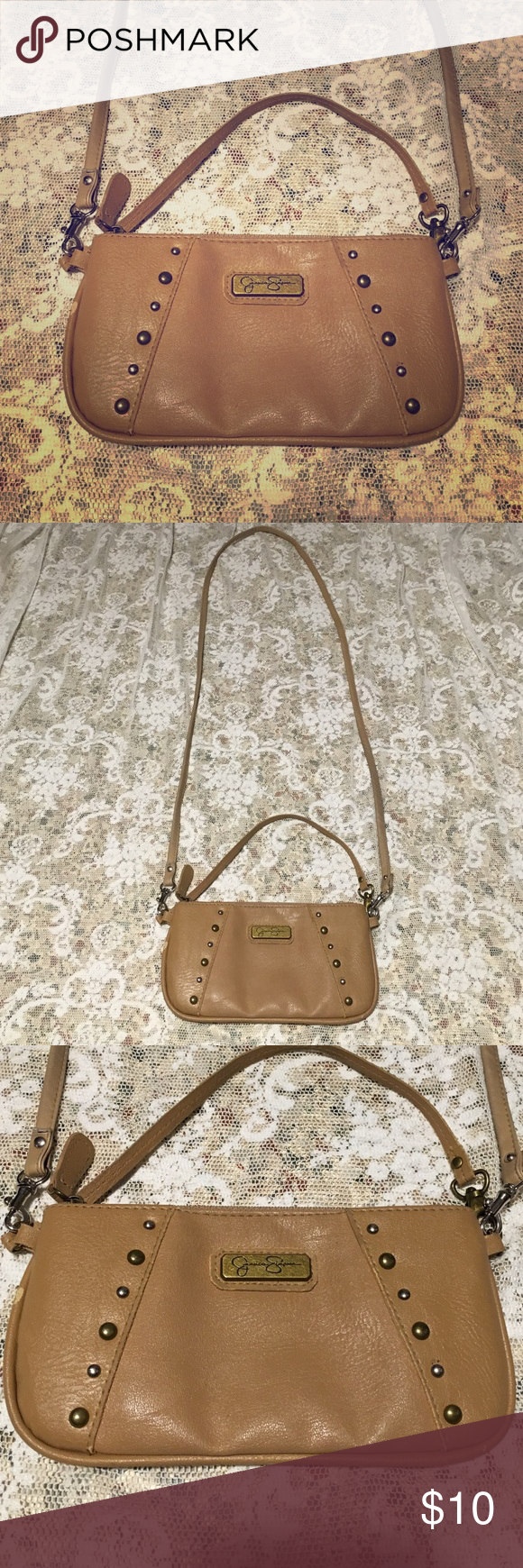 JESSICA SIMPSON MESSENGER TOTE BEIDGE  PURSE RAVE JESSICA SIMPSON MESSENGER TOTE BEIDGE  PURSE. Jessica Simpson Bags Crossbody Bags