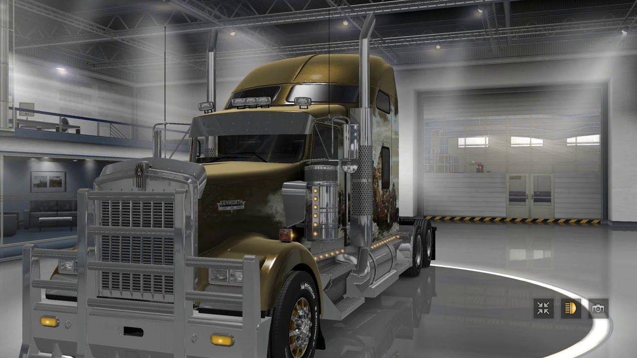 Ets2 Euro Truck Simulator 2 American Truck Version 2 0 1 Kenworth
