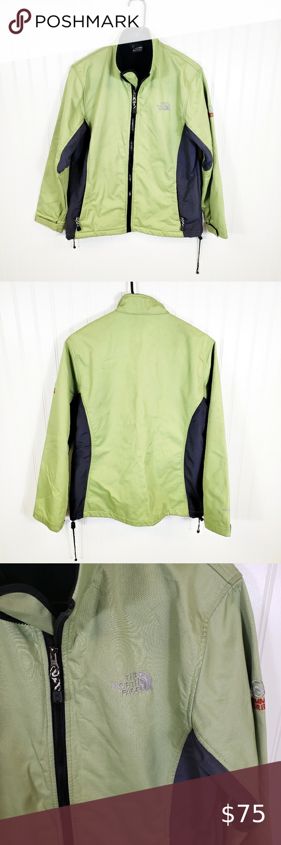 The North Face Summit Serries Jacket Excellent Condition Lime Green And Gray Size Xl Bundle With Other Items For A Dee In 2020 Jackets Clothes Design Jackets For Women [ 1740 x 580 Pixel ]