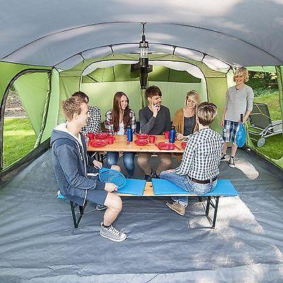 skandika Nordland 6 Person/Man Family Tent Sewn-in Floor