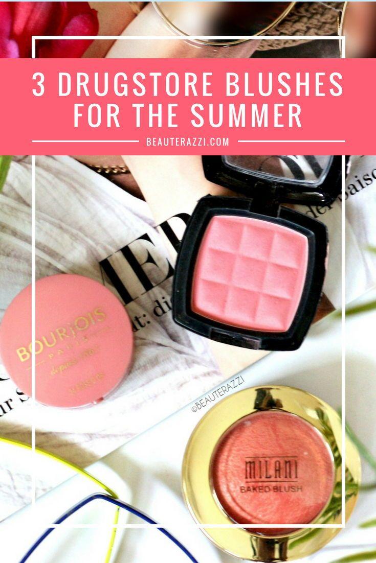 3 Drugstore Blushes For The Summer Drugstore blush