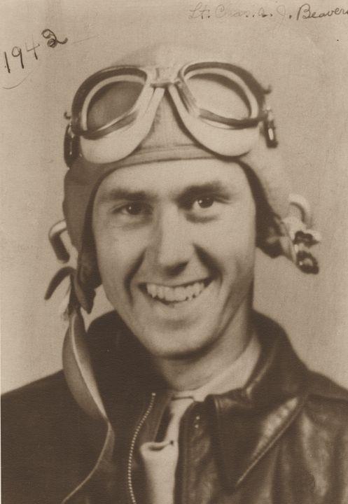 Q58167 - Lieutenant Charles A. J. Beavers of the U.S. Army Air Corps. (ADAH)