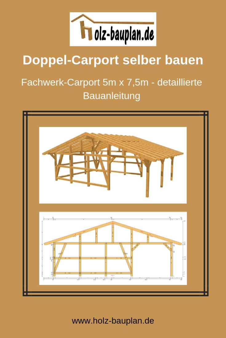 Fachwerk Carport Bauplan Carport Selber Bauen Carport Bauplan Carport