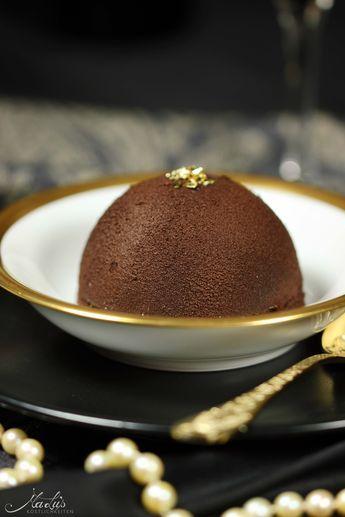 Knackige Schokoladenkuppel mit zartem Baileysherz und ein Flat White Martini* - Maren Lubbe - Feine Köstlichkeiten