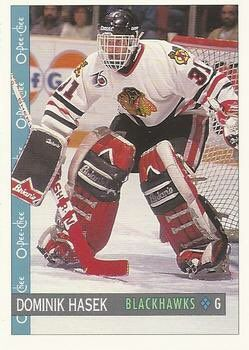 """O-Pee-Chee Stars on Twitter: """"24 yrs ago, Hawks dealt backup Dominik Hasek to Sabres where he'd win 6 Vezinas, 2 Harts & earn trip to Cup Final. https://t.co/o50szeH4BC"""""""